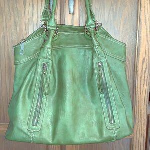 Handbags - GORGEOUS sage soft roomy shoulder bag Excellent 👜